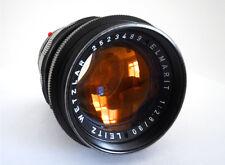 Leica Elmarit 90mm Lente de f2.8 en Negro Raro-M Mount - 1972-como Nuevo!