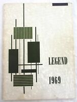 Naperville Lincoln Junior High Yearbook - 1969