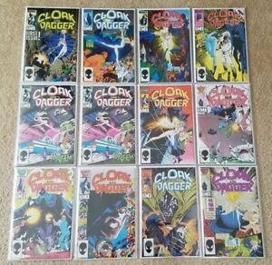 CLOAK and DAGGER Vol. 2 (1985) #1-11 NM Full Run Marvel Comics