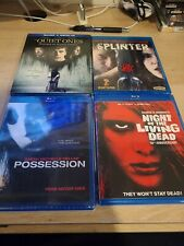 Night of the Living Dead , Splinter,  Possession , The Quiet ones horror Blu-ray