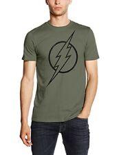 T-shirt Uomo DC Comics cotone Verde Rgmts143 Primavera/estate XXL