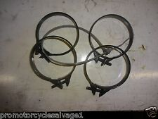 SUZUKI GSXR 750 2004 2005 K4 K5:AIRBOX TO CARB CLAMPS:USED MOTORCYCLE PARTS