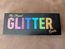 BRAND NEW Too Faced Glitter Bomb Eyeshadow Palette