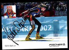 Katrin Apel Autogrammkarte Original Signiert + A 106182