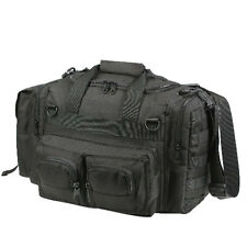 Black Concealed Weapon Pistol Handgun Carry Range Police Duty Duffle Gear Bag