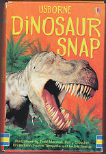 Usborne Dinosaur Snap Cards - New