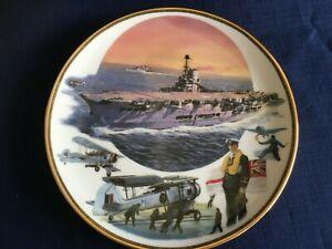 "Davenport Pride Of The Fleet ""HMS Ark Royal"" plate"