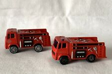 Pair Maitso China Matching Fire Engine Toy Cars