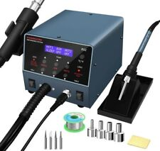 Durable 2 In 1 Hot Air Rework Station And Soldering Iron Station 800w
