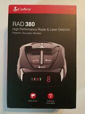 Cobra Rad 380 Laser Radar Detector –Long Range LaserEye Front and Rear Detection