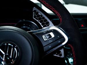 VW Golf 7 GTI GTD R Scirocco Schaltwippen Verlängerung Alu DSG Shift Paddles HG