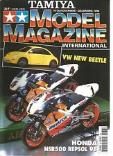 TAMIYA - MODEL MAGAZINE N°36 VW NEW BEETLE / HONDA NSR500 REPSOL 98