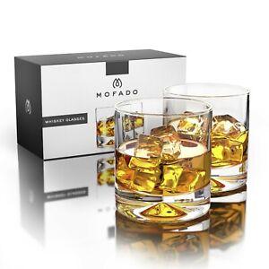 Mofado  12oz Whiskey Glasses 2 Piece Set - Clear