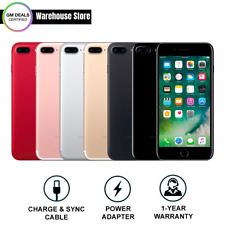 Apple iPhone 7 Plus 🍎A1661 (CDMA+GSM) Verizon T-Mobile AT&T Unlocked