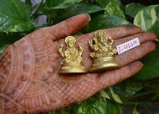Laxmi Ganesh idol for Pooja Diwali Gift Brass Laxmi Ganesh Idols for Gift~I-4669