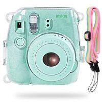Camera Case Bag For Fujifilm Instax Mini 8/9 Transparent Instant Film Cover USA