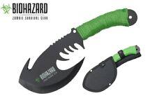 Zombie BIOHAZARD Throwing Axe Tactical Hunting Hatchet Survival Knife