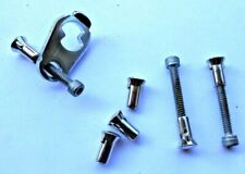MASTER Padlock Repair parts :  6 Security Nuts,  3  Screw,  1  Cover Plate
