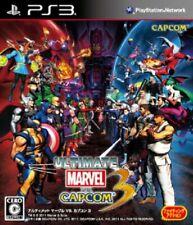 Usé PS3 PLAYSTATION 3 Ultimate Marvel Vs.Capcom R 3 40433 Japon Import