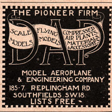 Pioneer ebay 1920 ad pioneer firm dap model aeroplane co southfields cheapraybanclubmaster Choice Image