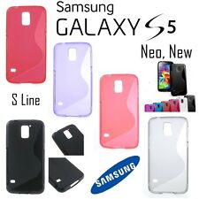 !! DESTOCKAGE !! Etui Housse Coque Transparente Case Cover Samsung Galaxy S5