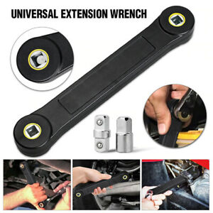 Universal Extension Wrench Adjustable Spanner Automotive Tools Torque Ratchet