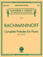Complete Preludes, Op. 3, 23, 32, Paperback by Rachmaninoff, Sergei (COP), Br...