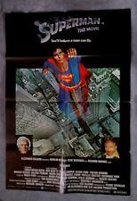 Superman Original International Style 1sh Movie Poster CHRISTOPHER REEVE Hackman