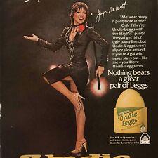 Joyce De Witt L'eggs Undie Leggs Panty Pantyhose Original Magazine Print Ad 1979