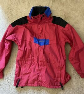 Vintage Columbia Ski pull over Shell Anorak Jacket Men's Size Large 1990's