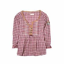 Odd Molly señora blusa camisa top camisa blouse talla 1 (de 36) 396 a cuadros 88752
