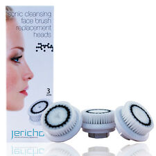 Jericho Sonic Cleansing Face Brush Replacement Heads 3 Unit
