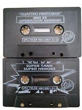 ZX SPECTRUM x8 MIG-29 SUPER STUNTMAN TANK HEROES 3D STARFIGHTER TERRA COGNITA ++