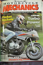 Classic Motorcycles Mechanics Magazine. No. 165, July 2001. Hot Japanese 400s.