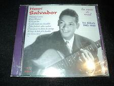 """CD NEUF """"HENRI SALVADOR, LES DEBUTS 1943-1940 - LA VOIX DE MIEL"""""""