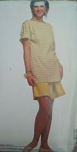 Vintage McCall's Easy T-Shirt & Shorts Sewing Pattern 5923 LG-XLG UNCUT