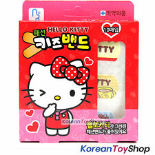 Hello Kitty Kids' Cute Band Aid Bandages A Stardard 1 Box 10 Pads Made in Korea