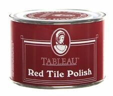 Tableau Red Tile Polish 250ml Coloured Wax Polish For Unsealed Tiles And Floors