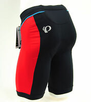 Pearl Izumi Select Pursuit Men's Tri Triathlon Shorts, Black/True Red, Small