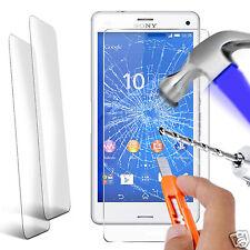 Double Paquet Protection Écran En Verre Trempé pour Sony Xperia Z3 Compacte