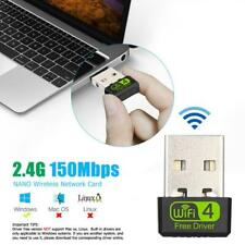 USB WiFi Dongle 150mbps Dual Band 2.4G/ 5G Wireless Adapter Mini Network Card