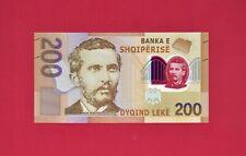 ALBANIA POLYMER UNC NOTE: 200 LEKE 2019 (P-New) Sign: Gent Sejko & Stefan Sevo
