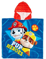 NICKELODEON PAW PATROL Pup Heroes Hooded Towel - 120 x 60cm - Licensed