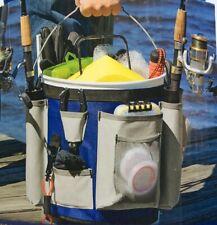 Charter Marine 5 Gallon Bucket Bag Includes 2 Fishing Rod Holders & Gear Storage