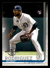 2019 Topps 582 Montgomery Parallel #667 Ronny Rodriguez RC Detroit Tigers