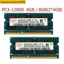 For Hynix 4GB 8GB DDR3 PC3-12800S 1600MHz SODIMM Laptop Memory RAM 204PIN USA