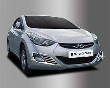 Chrome Fog Light Cover Reflex Lens Molding Trim  for Hyundai Elantra 11-13