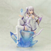 Re Life in a Different World From Zero Emilia Figure Model Ornament Collect Gift