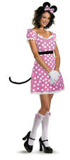 Womens Sassy Pink Minnie Mouse Costume Size 4-6