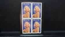 Vintage - Marilyn Monre - Actress - 1995 Mint Stamp Block